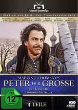 Peter der Große - Der komplette Vierteiler (Maximilian Schell) 4 DVD NEU + OVP!