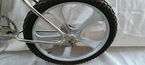 """Vintage Old School WEBCO BMX Magnesium Mags wheels ONLY , 20""""  Rare, excellent."""