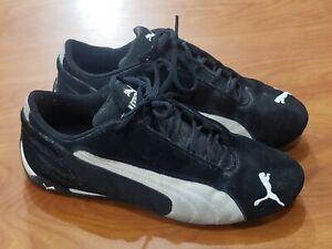 Women's Puma Speed Cat Shoes Size 9 Black/White