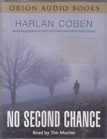 Harlan Coben No Second Chance 4 Cassette Audio Book Crime Thriller Tim Machin