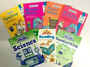 year 3, 7+ home Learning workbooks pack Spelling science Multiply-dividing KS2