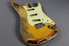 MJT Official Custom Order Vintage Aged Nitro Finish Guitar Body Mark Jenny VTS