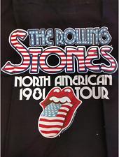 Rolling Stones Tour de 81 Bolso de mano