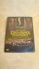 CREATING THE LORD OF THE RINGS SYMPHONY DVD HOWWARD SHORE NEW
