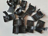 New 24 KITCHEN PLINTH LEG CLIPS & BRACKETS KICK BOARD PLASTIC FITS 28 MM DIA LEG