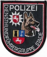 """NIEDERSACHSEN  Polizei STADE  """"ROT""""  Diensthundführer K-9 DHF Abzeichen Patch"""