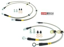 STOPTECH MITSUBISHI LANCER EVO EVOLUTION X 10 STAINLESS STEEL SS BRAKE LINE KIT