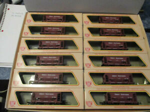 """HO Scale """"IHC"""", Ore Car, Great Northern Set Of 12 Never Run"""