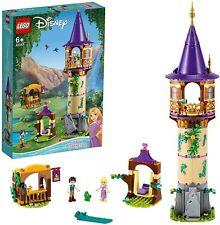 LEGO 43187 Disney Princess Rapunzel's Tower Castle Playset with 2 Mini Dolls fro