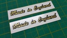 Triumph Bonneville decals sticker made in England restoration T120 T140 TR7 TR8