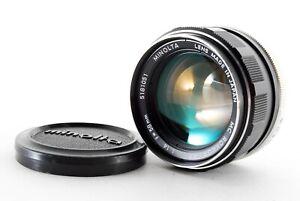 """""""EX""""   MINOLTA MC ROKKOR-PF 58mm f1.4 Lens From Japan     #4-15-9-a"""