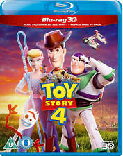 Toy Story 4 [Blu-ray 3D + 2D] 2019 Pixar Disney Uk Exclusive 3D Movie Woody Buzz