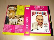 JAQUETTE VHS Hibernatus Louis de Funès Claude Gensac