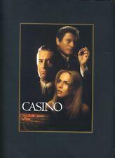 Robert De Niro Joe Pesci Sharon Stone Casino Awards Program Book #M7887