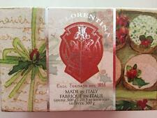 La Florentina Tuscan Mild Creamy Bar Bath Soap Red Berry Made in Italy Bar