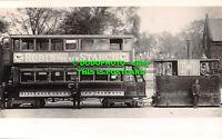 R539731 Robin the New Starch. Blackburn Corporation Tramways. Salford Bridge and
