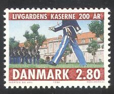 Denmark 1986 Military/Army/Life Guards/Barracks/Buildings 1v (n34616)