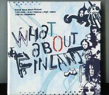 What About Finland   3 CD's PROMO METAL / HARDROCK / ROCK / NU-JAZZ