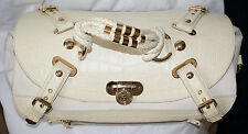 Versace Leather/Suede Handbag