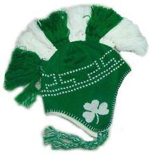 d374219bf16 NWT NEW IRISH AVIATOR KNIT SKI WINTER MOHAWK HAT BEANIE CAP