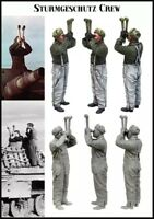 1/35 1:35 Scale WWII Panzer Crewman Resin Model Figures Kit (1 Figure)