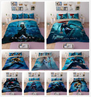 3D Aquaman Hero Duvet Cover Quilt Cover Bedding Set Comforter Cover Pillowcases