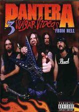 PANTERA 3 Vulgar Videos From Hell 2DVD NEW R18+ NTSC Region 2 3 4 5