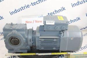 SEW 0,75 Kw 60 Min Gear Motor SA47/TDRS80S4BE1HF / Tf Gearbox