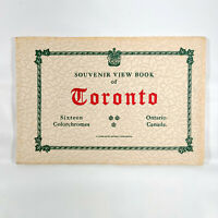 1930s Toronto Ontario Canada Souvenir View Book Vintage Travel Maple Leafs