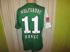 "VfL Wolfsburg Original Nike Matchworn Trikot 06/07 ""VW"" + Nr.11 Hanke Gr.M"