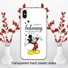 Disney Mickey Mouse Believing Dreams Case Cover for iPhone Samsung Huawei Google