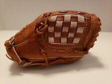 Bergino Miniature 6 Inch Baseball Glove Real Leather!! Business Card Holder