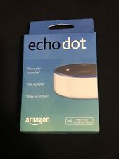 NIB Amazon Echo Dot (2nd Generation) Smart Assistant - White