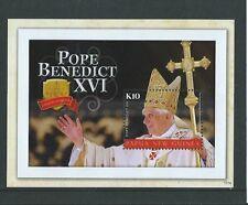 Papua Nuova Guinea 2010 Papa Benedetto XVI in miniatura foglio unmounted Nuovo di zecca, Gomma integra, non linguellato