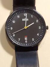 Braun German Minimalist Watch BN0032BKBKG with Box