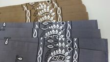 Bandanas/Scarfs Face Coverings Set of 8 Gray & Brown