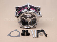 Chrome Air Cleaner RSD Intake Filter Fit For Harley Touring Trike 08-16 Softail