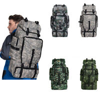 70L Outdoor Military Rucksacks Tactical Backpack Camping Hiking Trekking Bag