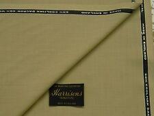 "60% Coolmax Dacron 40% LANA ""TROPICALI"" VANIGLIA Suiting Tessuto 3.5m - Made in England"