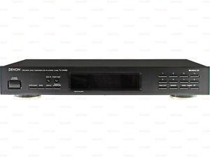Denon TU-215RD RDS Stereo AM-FM Tuner Zwart Hoge kwaliteit vintage radio 2-Band
