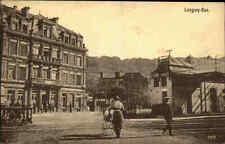 Longwy-Bas. Langich Carte Postale seltene AK Frankreich ~1914/18 Bahnübergang