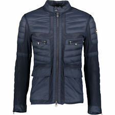 COLMAR Navy Down Padded Biker Jacket IT52 RRP £370