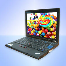 Lenovo ThinkPad X200 Core2 Duo P8400 2,26Ghz 4GB 160GB Windows7 Webcam+Docking