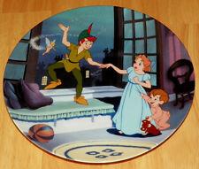 Disney Collector Plate Knowles/Bradford Peter Pan Treasured Moments Series
