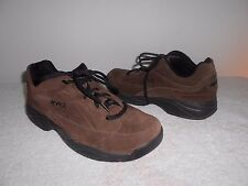 RYKA Womens 'Catalyst' Sneaker Walking Shoe Brown Suede
