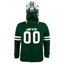 NWT NEW YORK JETS GREEN COSTUME HOODIE football sweatshirt boy SMALL S 8 $50