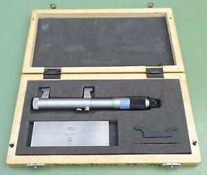 Schnabel Innenmessschraube 75-100 Endmaß Innen Mikrometer Messschraube Messgerät