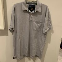 Orvis Outdoors Men's Performance Polo Shirt Gray XL
