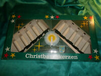 ~ Weihnachtsbaumbeleuchtung alte Philips Lichterkette 10 Kerzen weiß Christbaum