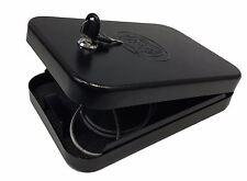 Gun Safes P-10 Handgun Safe Box Portable Key Lock Box Home Security Safe